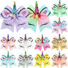Kids Girls JOJO Unicorn Hair Bow Pin Alligator Clip Hairpins Xmas Santa Bowknot