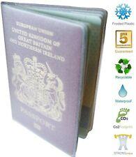 Passport Cover Wallet Holder Jacket Protector Plastic 5 Year Guarantee