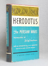 Vintage THE PERSIAN WARS by Herodotus MODERN LIBRARY Hardcover DUST JACKET