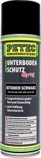 PETEC Unterbodenschutz Bitumen 500ml Spray   73150