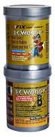 PC Products 16333 PC WoodyTwo-Part Wood Repair Epoxy Paste, 12 oz in Two Cans,