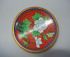 Chinese Cloisonne Chrysanthemum Pattern Pin Dish 19th Century