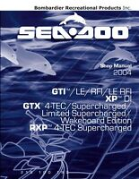 New Sea-Doo 2004 GTI GTX XP RXP 4-Tec DI Supercharged etc Service Repair Manual