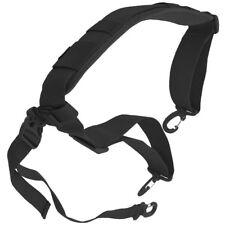 HAZARD 4 DELUXE STRAP SHOULDER HARNESS WITH PAD ADJUSTABLE MESSENGER HOOK BLACK