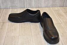 Dr. Scholl's Work TX Winder Leather SR Loafers, Men's Size 13M Black DAMAGED