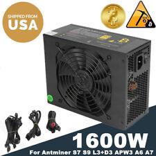 1600W PSU BTC Cash APW3++ Power Supply For BTC Antminer S7  L3 D3 A6 A7 New UR