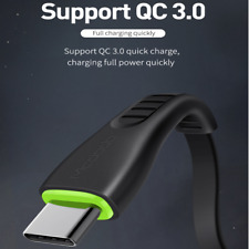 Mcdodo LED USB-C Type-C 3.1 3A Quick Charger Fast Charging Data Sync Cable Cord