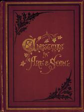 1879 Christmas in Art & Song Carols Poems Festivals Jesus Christ Christian Music