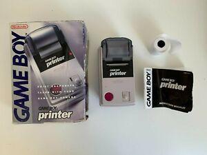 Nintendo Game Boy Printer & Box & Paper Roll Gameboy