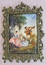 Brass Frame Rectangle Antique Style Photo Frames