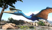 Ark Survival Evolved Xbox One PvE Color Mutated Quetzal w/ Platform Saddle