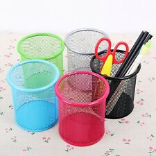 Round Pencil Pen Holders Men Women Office Organizer Container Office Supplies