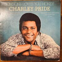 CHARLEY PRIDE  SOMEONE LOVES YOU HONEY VINYL LP  RCA APL-1-2478 EXCELLENT COND