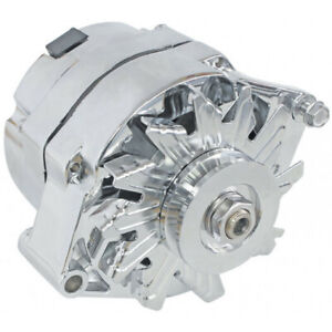 Holden HQ HJ HX HZ WB 253 308 V8 Aeroflow Chrome Alternator 100 AMP Internal Reg