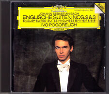 Ivo POGORELICH: BACH English Suite No.2 & 3 DG 1986 WG CD Englische BWV 807 808