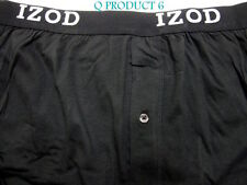IZOD izod Man Knit Boxer Men's Size M Boxers Black Color Underwear NWT M
