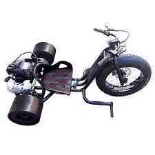 Gas Powered Big Wheel BLACK Drift Trike Drifter 2 stroke 2.5hp 25mph ScooterX