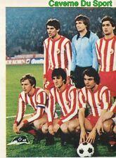 309 TEAM CRVENA ZVEZDA YOUGOSLAVIA VIGNETTE STICKER FOOTBALL 1980 BENJAMIN NEW