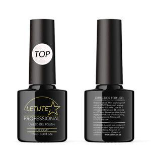 Top Coat LETUTE™ Soak Off UV/LED Nail Gel Polish