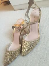 New Look Women's gold High Heel Pointed Shoes SIZE 6 NEW