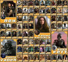 Star Wars Card Trader Orange Throwback Rey Vader Ahsoka +MORE YOU CHOOSE 5–56 cc