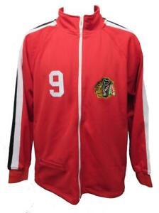 1971-72 Bobby Hull #9 Chicago Blackhawks Mens Sizes Mitchell & Ness Jacket $125