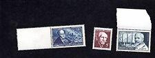 3 timbres de france neufs 1948 sans charnière TTBE