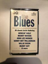 THE BLUES ~ GQ/MCA/CHESS 1994 UK BLUES PROMO CASSETTE TAPE ~ HOWLIN' WOLF ETC