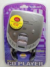 Personal Cd Player Venturer Dm8301-45K Memory Program Skip Protect Car Kit Nos