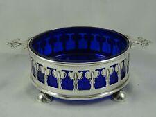 More details for art nouveau sterling silver bowl, 1903 - w.hutton
