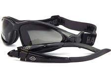 HARLEY Davidson commutabile APRI per modifica Occhiali da sole o occhiali Nero HDS805 BLK-3