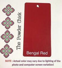 Bengal Red 49/33333 Powder Coating Paint 1lb Bag NEW