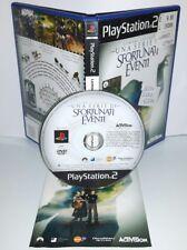 UNA SERIE DI SFORTUNATI EVENTI Playstation 2 Ps2 Play Station Bambini Gioco Game