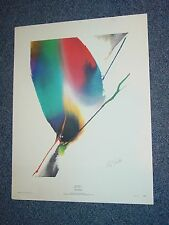 Vintage Paul Jenkins Veil Before New York Graphic Society Print