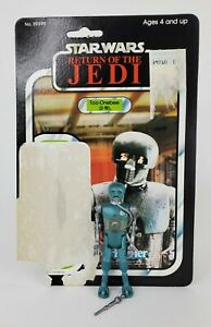 Star Wars ROTJ Return of the Jedi 2-1B Medical Droid Figure 77 Card back