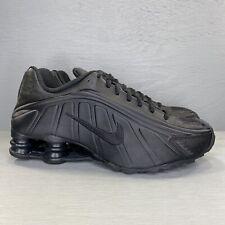 Nike Shox R4 Triple Black Running Shoes Men's Size 8.5 104265-044 New No Lid