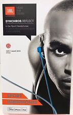 JBL Synchronos Reflect In Ear Sport Headphone - Blue