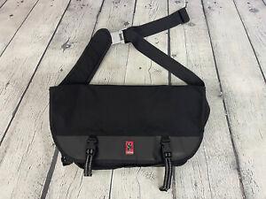 Chrome Black Reflective Seatbelt Buckle Bicycle Commuter Messenger Satchel Bag