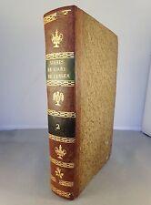 DEGERANDO / DES SIGNES ET DE L'ART DE PENSER T1 2° section / AN VIII 1800 GOUJON