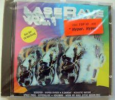 Laserave Vol. 1 - CD 14 Tracks Scooter Hyper Nosferatu No God to us Original NEU