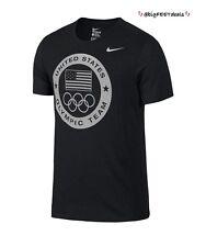 Nike Limited Edition (2XL) 2016 Rio Team USA Olympic Logo Dri-Fit Shirt Charcoal