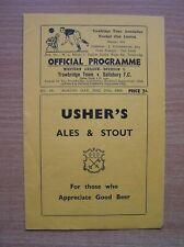 More details for trowbridge town v salisbury western league div1 27/12/1948