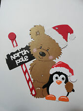 Scrapbooking~Card making~ Die Cut~Embellishment~Paper Piecing ~ North Pole