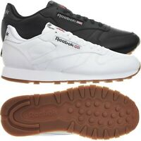Reebok Classic Leather Herren Leder Low-Top Sneakers Running Schuhe Klassiker