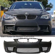 FOR BMW E60 04-10 5 Series 1M Body Kit Full Front Bumper Cover PP Plastic Primer