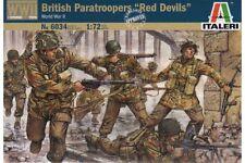 ITALERI 6034 1/72 Parachutistes Anglais «Red Devils» - British Paratroopers