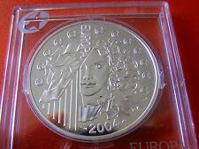 * Serie Estrella/Francia 1 1/2 euros de plata 2004 pp * Ampliación de la UE