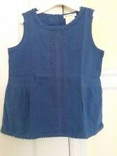 Crewcuts Royal Blue Eyelet Sleeveless Tank Top Shirt Sz 10