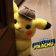 "Pokemon Plush Toy Detective Pikachu Movie 11"" Official Authorized Pikachu Doll"