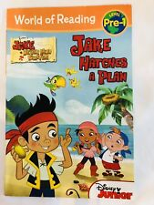 Jake and the Neverland Pirates-Jake Hatches a Plan World of Reading Book NEW